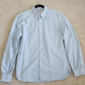 Brooks Brothers Solid Oxford Polo Button-Down
